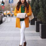 Лучшие образы в самых модных оттенках одежды