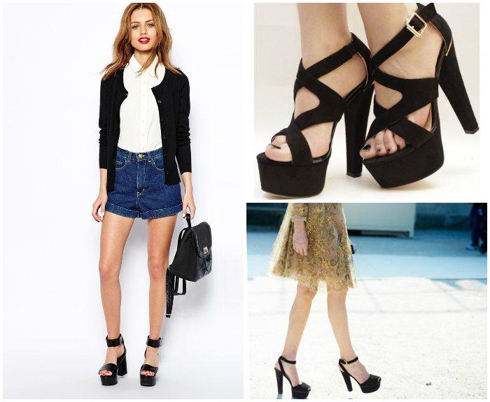 Обувь должна соответствовать стилю одежды