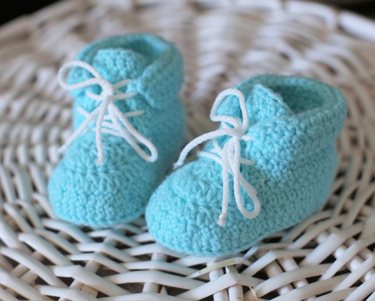 Пинетки-ботиночки для малышей
