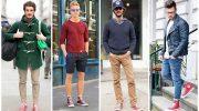 С чем мужчинам лучше всего носить кеды, актуальные комбинации