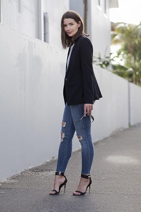 Классические ботинки под джинсы