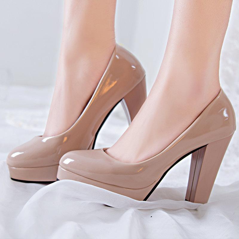 Туфли на удобной платформе