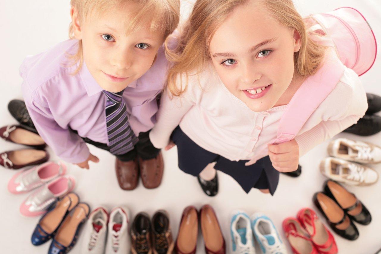 Критерии выбора сменной обуви, для чего нужно переобуваться в школе