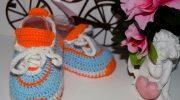 Изготовление пинеток в виде кроссовок для детей первого года жизни