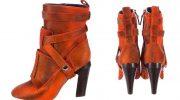 Правила выбора рыжих ботильонов, популярные модели обуви