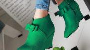 Рекомендации по выбору зеленых ботильонов, интересные образы с ними