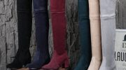 С чем носить замшевые ботфорты – рекомендации от стилистов