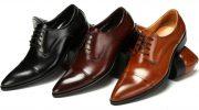 Отличительные особенности обуви дерби, модные модели и цвета