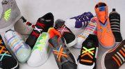 Разновидности шнуровки кроссовок, классические и креативные варианты