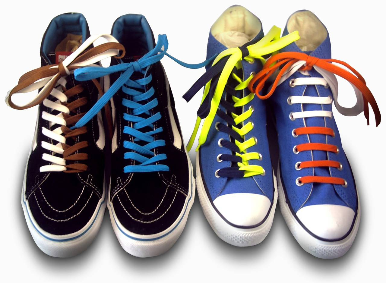 Как красиво завязать шнурки на кроссовках