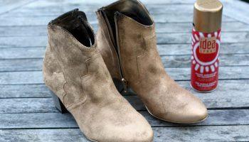Разновидности красок для замшевой обуви, рекомендации по их применению