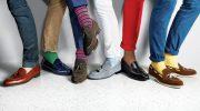 Правила сочетания мокасинов с носками для мужчин и женщин