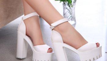 Разновидности моделей белых босоножек, нюансы сочетания с гардеробом