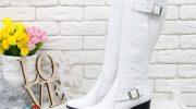 Модные образы с белыми сапогами, правила выбора по росту и типу фигуры