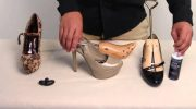 Растяжка обуви в домашних условиях, способы для разных материалов