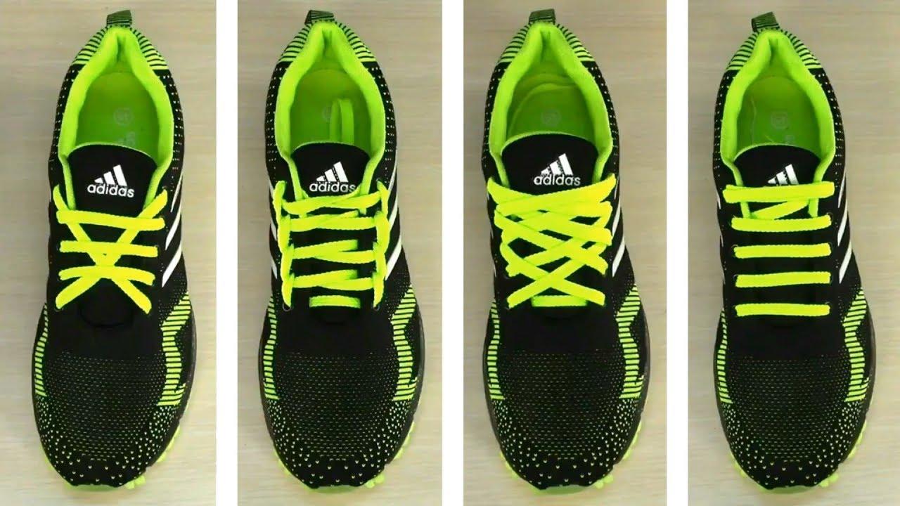 Как завязывать шнурки на мокасинах  Завязывание на обуви. Разные способы узоры