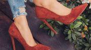 Популярные модели замшевых туфель на высоком каблуке, советы по выбору