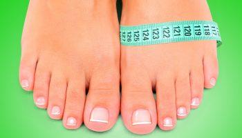 Как измеряется полнота обуви, таблицы женских и мужских параметров